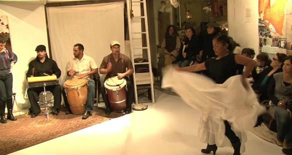 Grupo Aguacero at ACTA's Traditional Arts Roundtable Series in 2010.