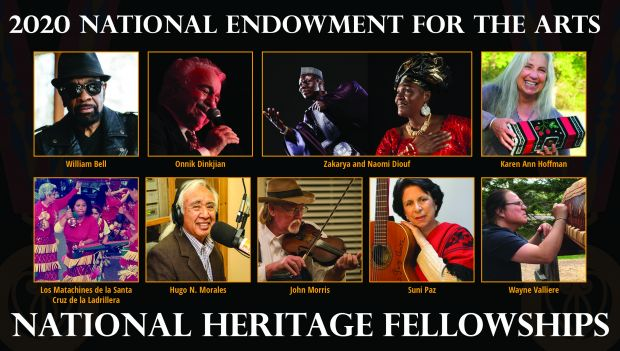 2020 Heritage Fellows Collage