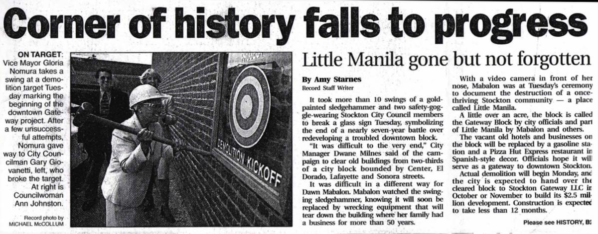 Little Manila Redevelopment New Clipping